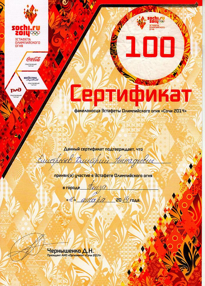 Нести Олимпийский огонь - почетная миссия