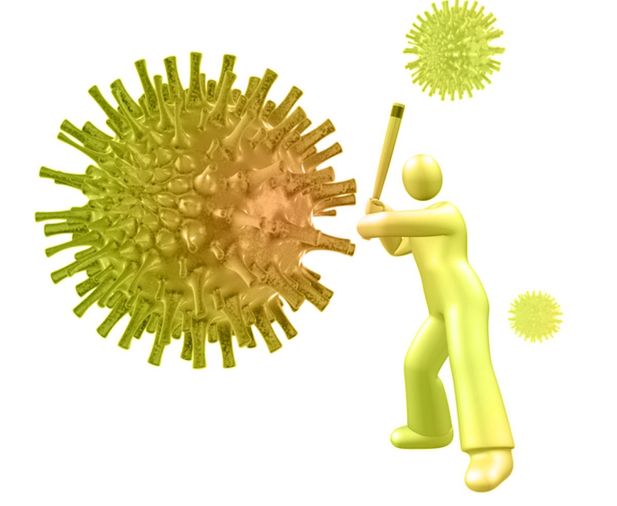 Прививка от гриппа помогает реже болеть