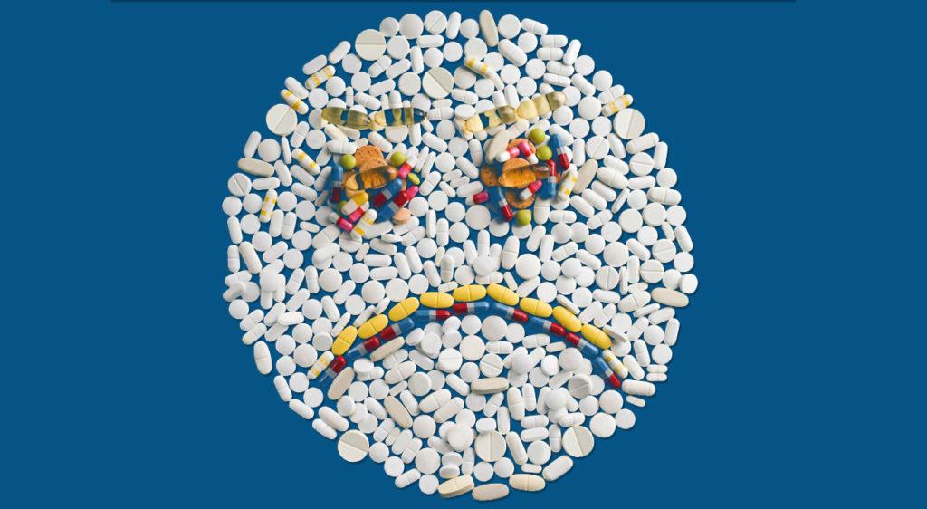 Побочное действие от лекарственных средств