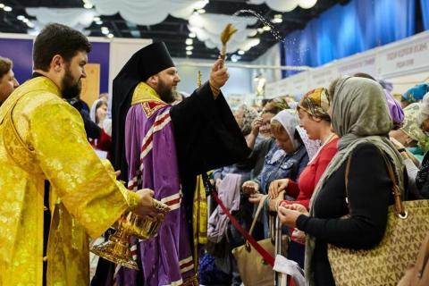 Православная нижегородская выставка-ярмарка: гости запасались витаминами