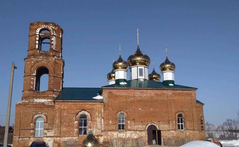 Восстановление храма в селе Константиновка при поддержке Парафарм продолжается