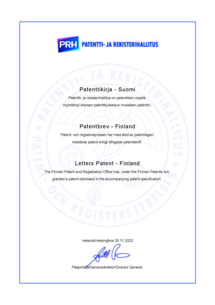 патент финляндии